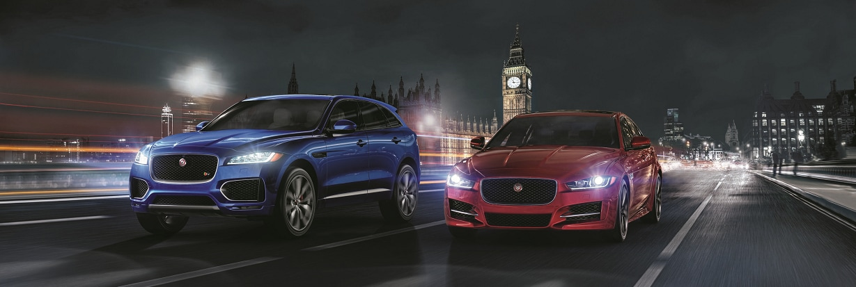 2017 Jaguar XE and F-PACE