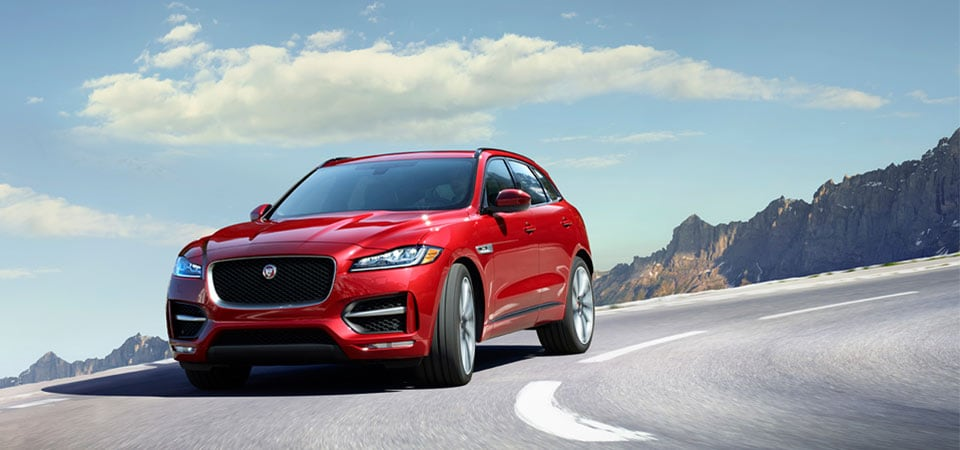 New Jaguar F-PACE on Long Island
