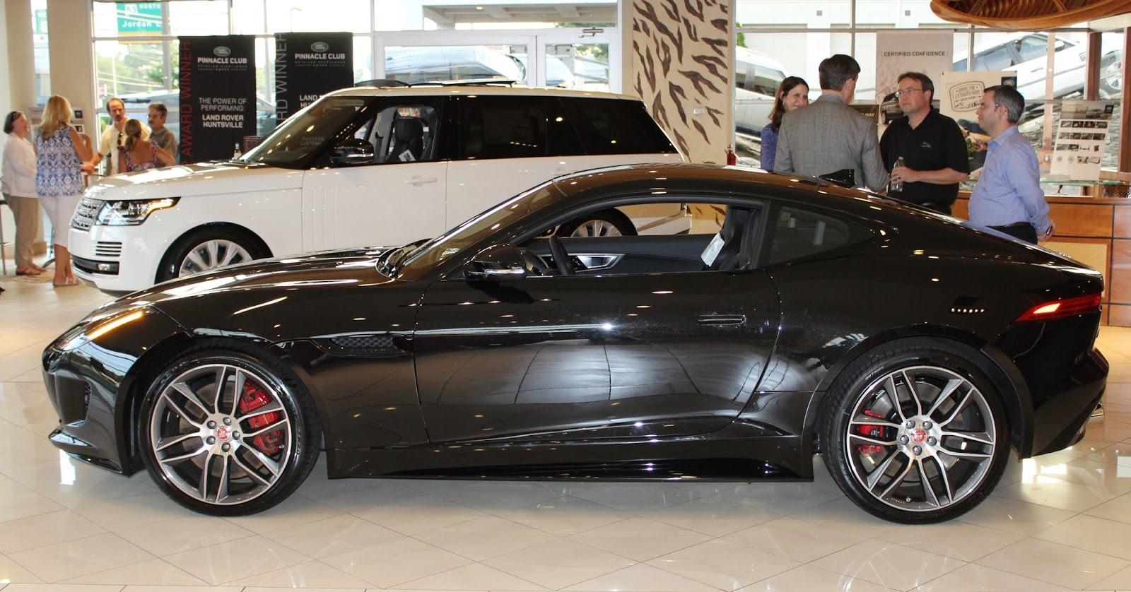 F-TYPE Coupe Unveiling | Jaguar Huntsville