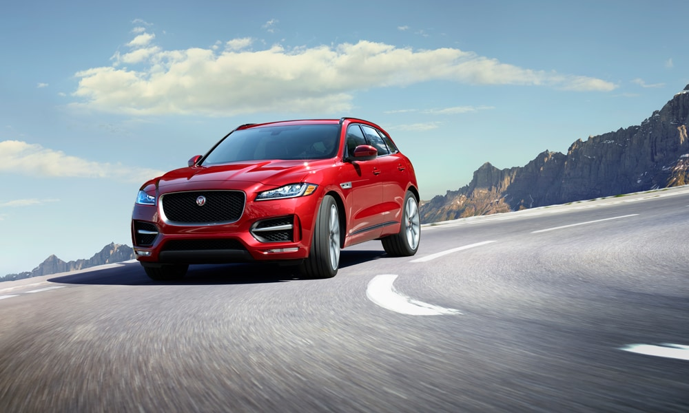 2017 Jaguar F-Pace at Jaguar Indianapolis