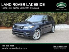 Certified Pre-Owned 2017 Land Rover Range Rover Sport 5.0L V8 Supercharged SUV SALWR2FE8HA144148 for Sale in Macomb, MI