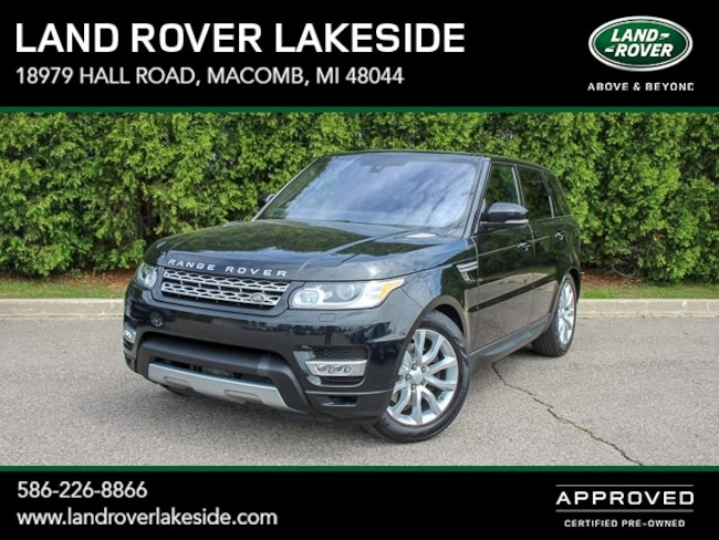 Used 2016 Land Rover Range Rover Sport 3.0L V6 Supercharged HSE SUV in Macomb