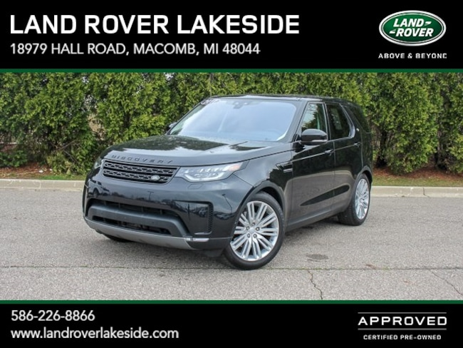 Used 2017 Land Rover Discovery First Edition SUV in Macomb