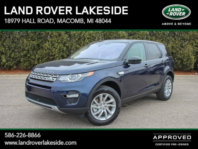 Used 2019 Land Rover Discovery Sport HSE SUV Macomb