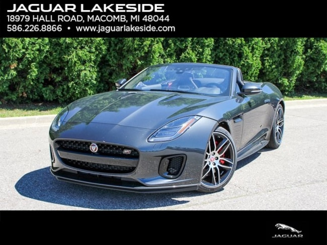 New 2020 Jaguar F-TYPE Checkered Flag Convertible Convertible in Macomb