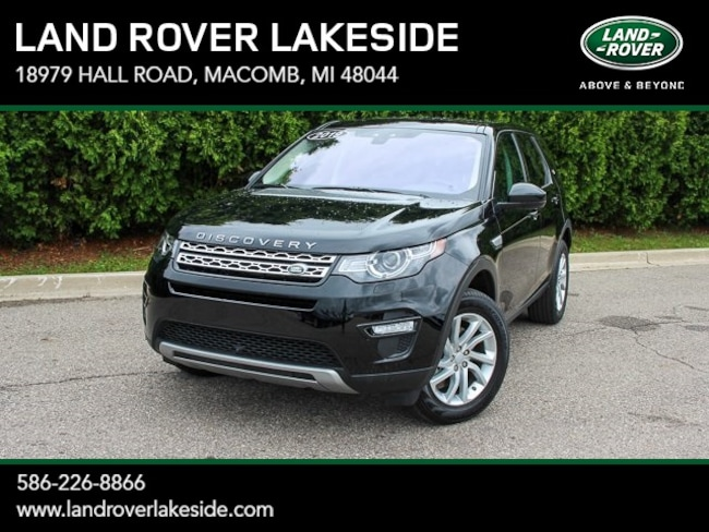 Certified Pre-Owned 2019 Land Rover Discovery Sport HSE SUV in Macomb, MI