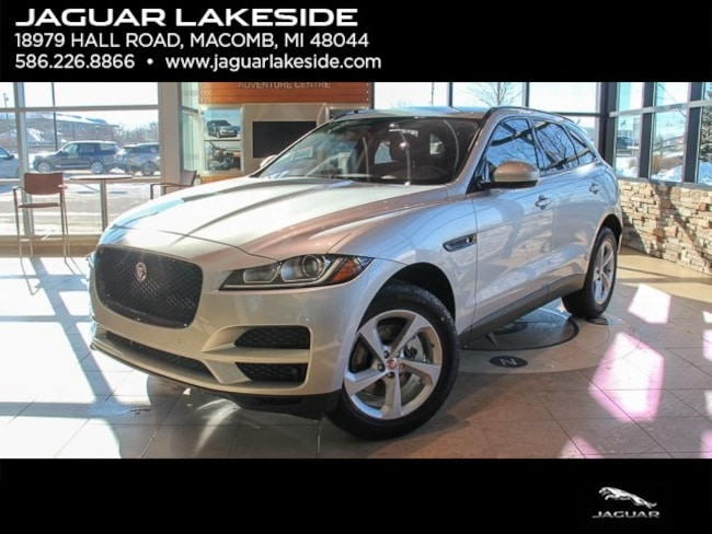 New 2019 Jaguar F-PACE Premium SUV in Macomb