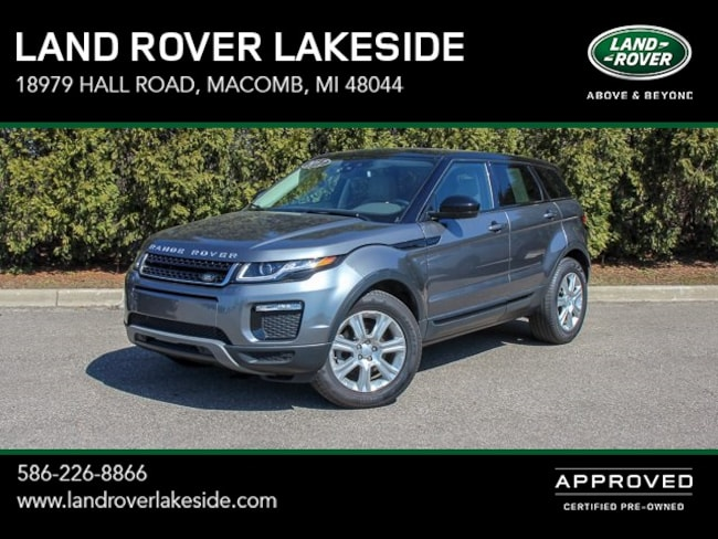 Used 2017 Land Rover Range Rover Evoque For Sale Macomb Mi