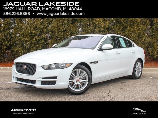 Pre-Owned Featured 2019 Jaguar XE 25t Premium Sedan for sale in Macomb MI