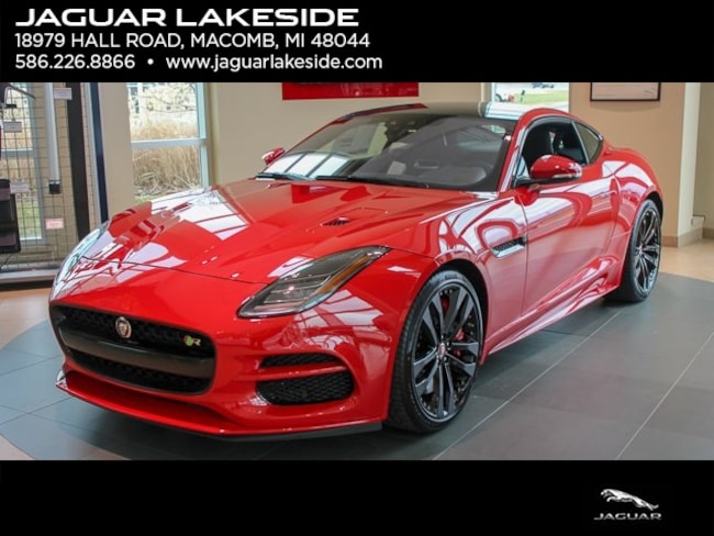 New 2019 Jaguar F-TYPE R Coupe in Macomb
