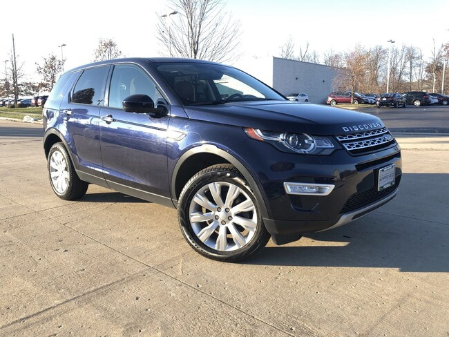 used 2016 Land Rover Discovery Sport HSE LUX AWD  HSE LUX in peoria