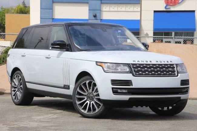 New 2017 Land Rover Range Rover 5.0L V8 Supercharged SV Autobiography SUV for sale in Livermore, CA