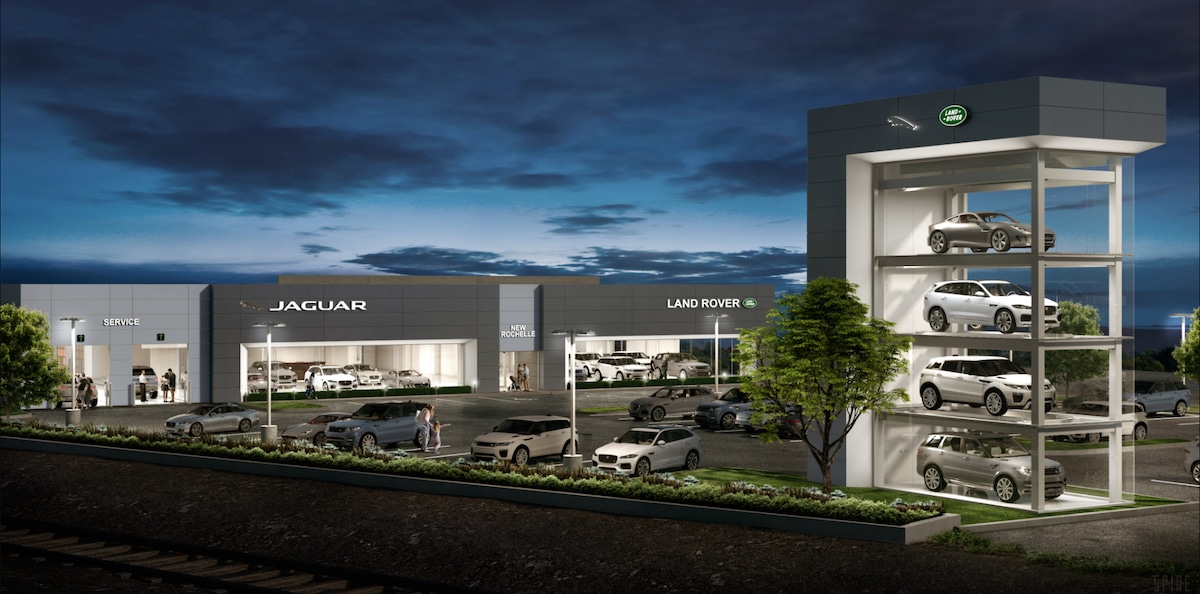 Jaguar New Rochelle new dealership rendering