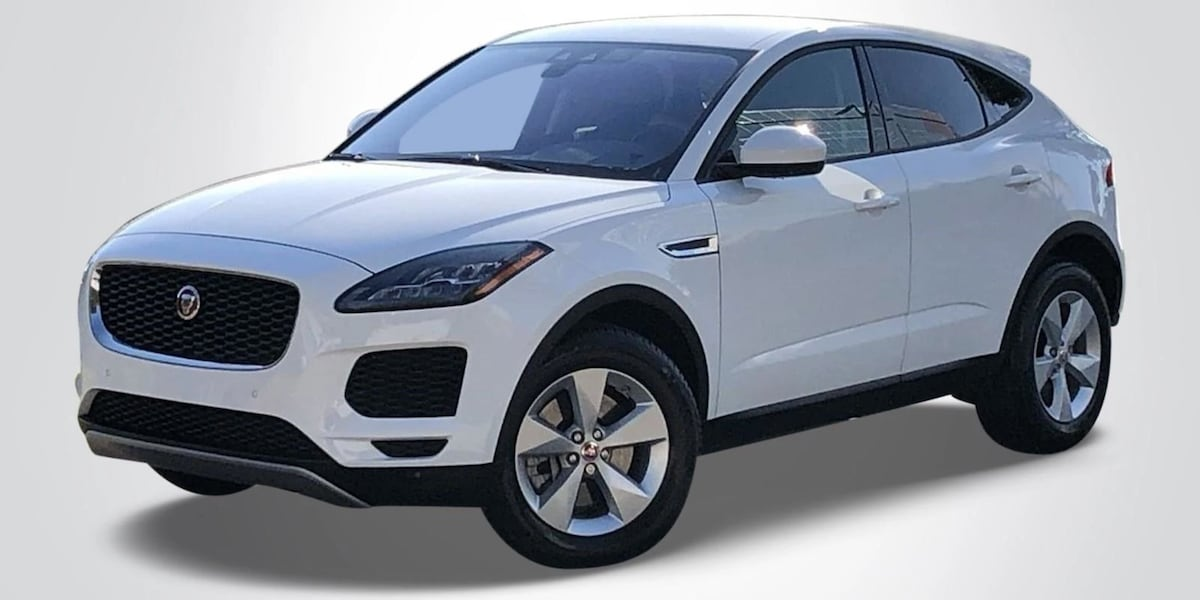 White used Jaguar E-PACE SUV
