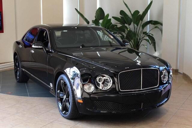 2016 Bentley Mulsanne 4dr Sdn Speed Car