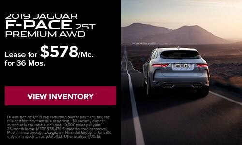 2019 Jaguar F-Pace - April