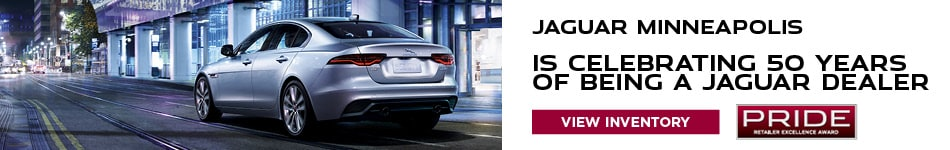 Jaguar Minneapolis Is Celebrating 50 Years Of Being A Jaguar Dealer