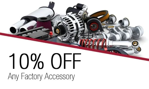 10% Off Any Factory Accessory