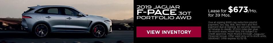2019 Jaguare F-Pace 30T