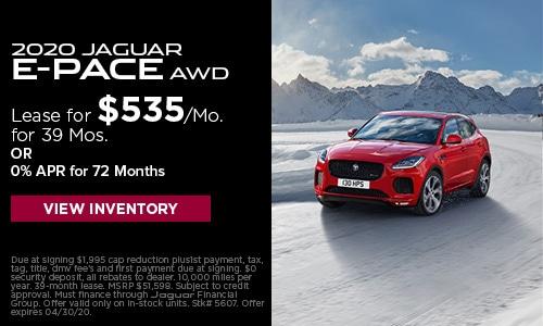 2020 Jaguar E-Pace AWD