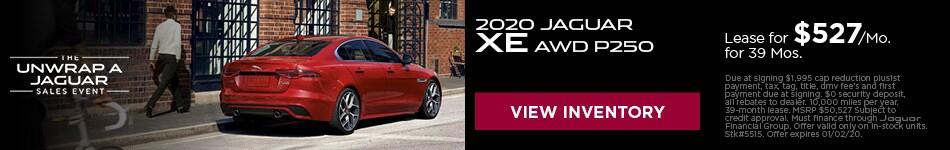 2020 Jaguar XE AWD P250