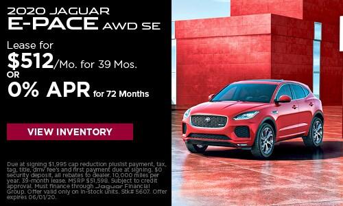 2020 Jaguar E-Pace AWD SE