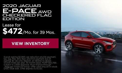 2020 Jaguar E-Pace AWD Checkered Flag Edition