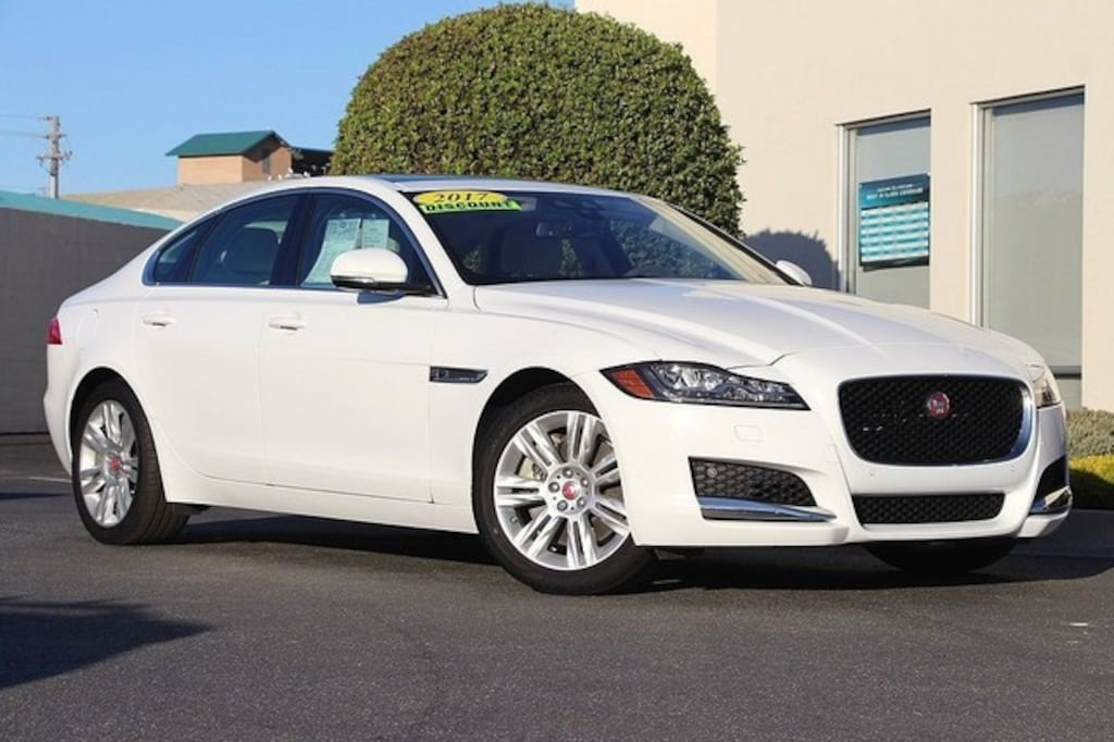 Used 2017 Jaguar XF For Sale at Volvo Cars of Monterey | VIN:  SAJBD4BV1HCY34643