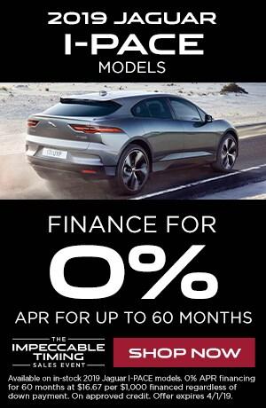 2019 Jaguar I-PACE Models