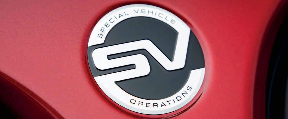 Land Rover SV Specialist Center