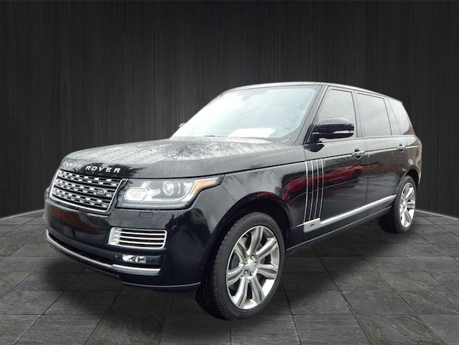 Certified Used 2015 Land Rover Range Rover 5.0L V8 Supercharged Autobiography Black SUV near Nashville