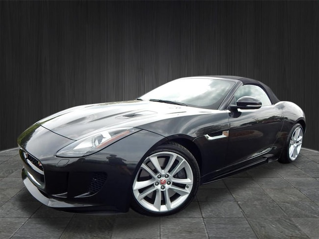 Certified Used 2016 Jaguar F-TYPE S AWD S  Convertible near Nashville