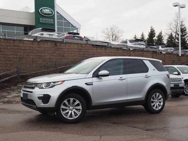 Certified Pre-Owned 2016 Land Rover Discovery Sport SE SUV For Sale Near Boston Massachusetts