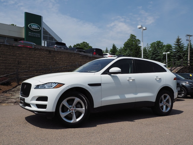 Certified Pre-Owned 2019 Jaguar F-PACE 25t Premium SUV For Sale Near Boston Massachusetts