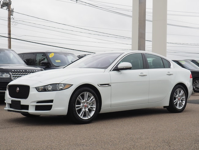 Certified Pre-Owned 2018 Jaguar XE 25t Premium Sedan For Sale Near Boston Massachusetts