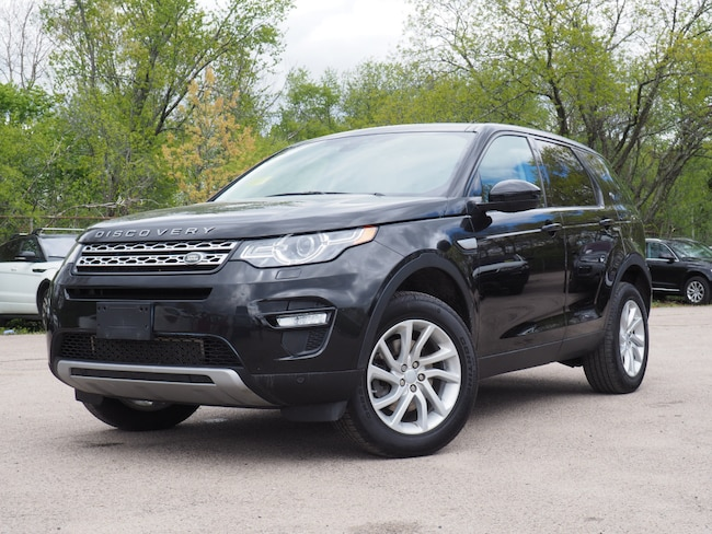 Certified Pre-Owned 2016 Land Rover Discovery Sport HSE SUV For Sale Near Boston Massachusetts