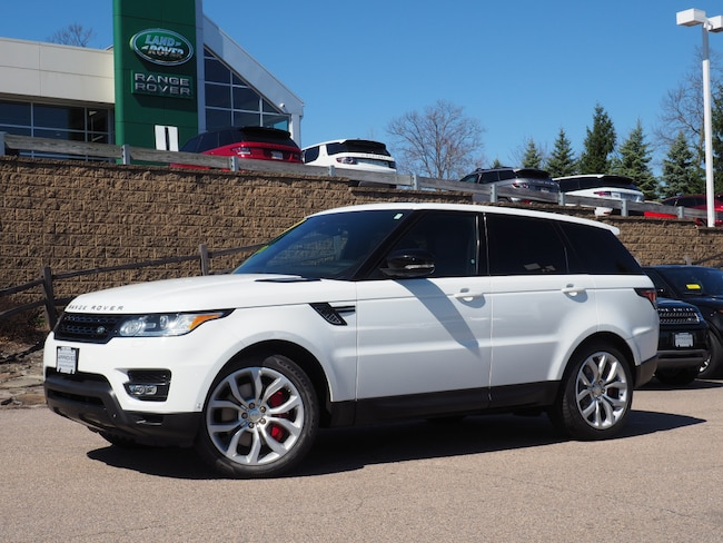 Used 2014 Land Rover Range Rover Sport 5.0L V8 Supercharged Autobiography SUV For Sale Near Boston Massachusetts