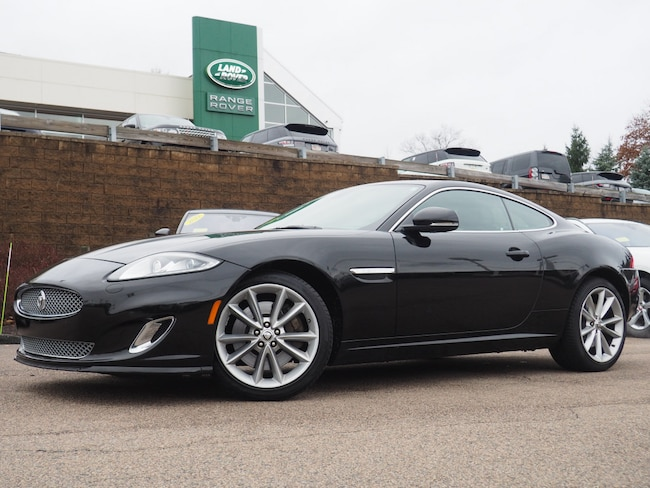 Certified Pre-Owned 2013 Jaguar XK Touring Coupe For Sale Near Boston Massachusetts