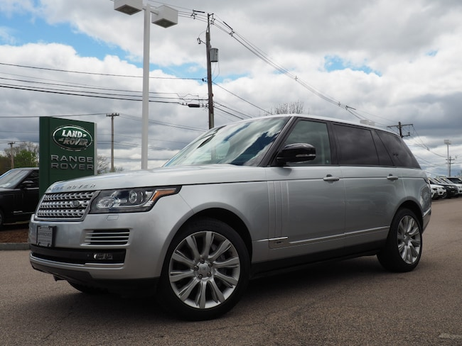 Used 2015 Land Rover Range Rover 5.0L V8 Supercharged SUV For Sale Near Boston Massachusetts