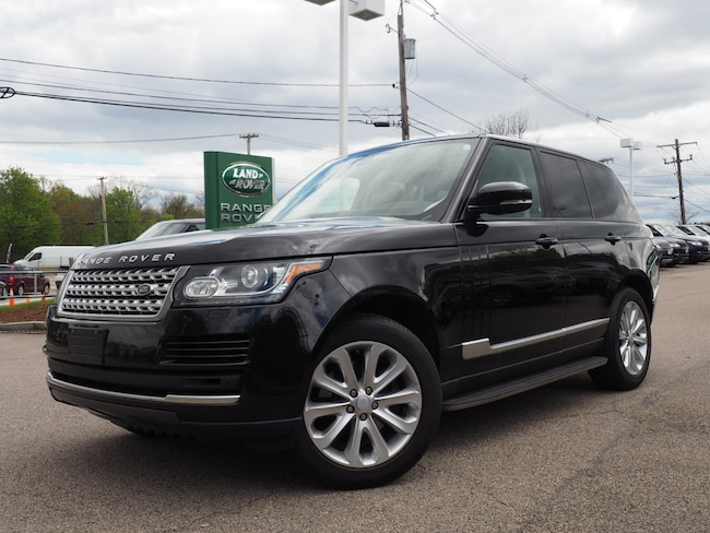 Used 2015 Land Rover Range Rover 3.0L V6 Supercharged HSE SUV For Sale Near Boston Massachusetts