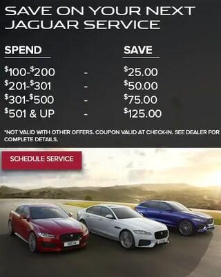 Save On Your Next Jaguar Service