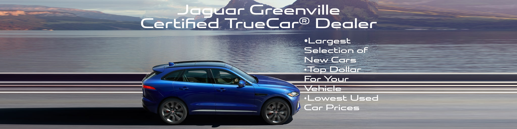 Certified Jaguar TrueCar Dealer in Greenville, SC