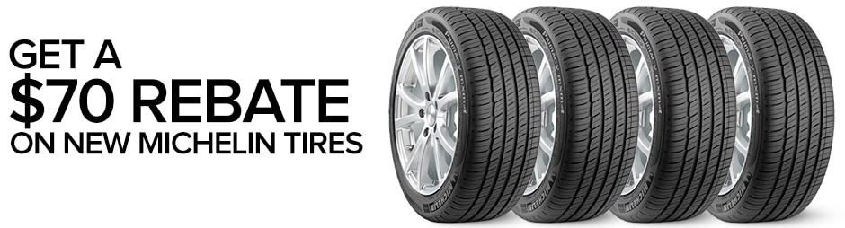 Jaguar Michelin Tire Rebates