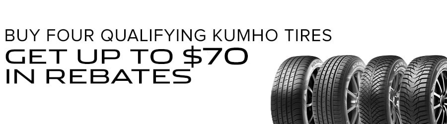 Greenville SC Jaguar Kumho Tire Specials