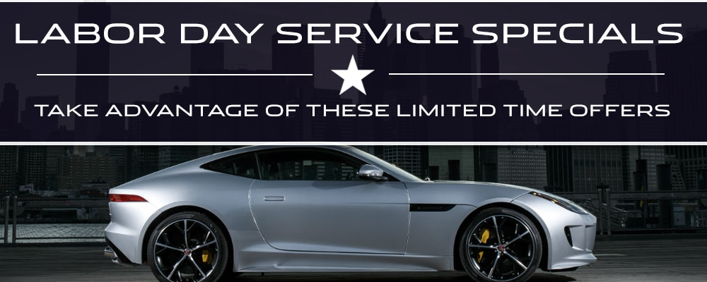 Jaguar Labor Day Specials Greenville SC