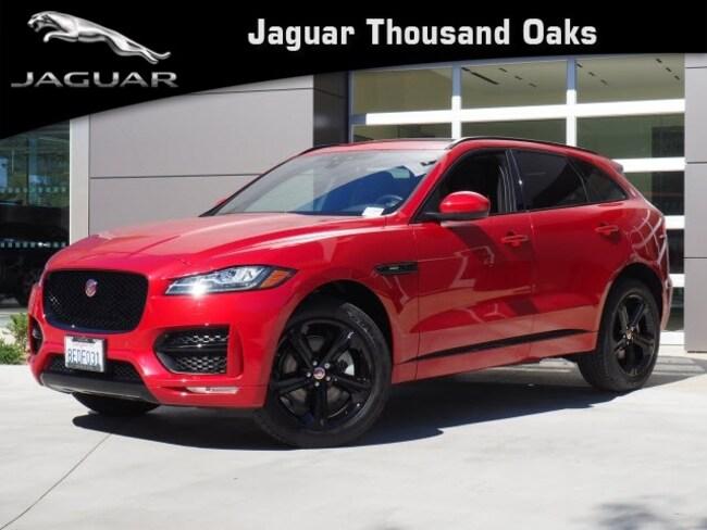 Certified Pre-Owned 2018 Jaguar F-PACE 30t R-Sport SUV in Thousand Oaks, CA