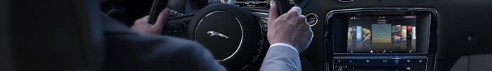 Drive a connected Jaguar