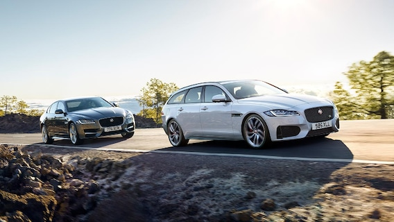 2018 Jaguar XF vs  2018 Lincoln Continental