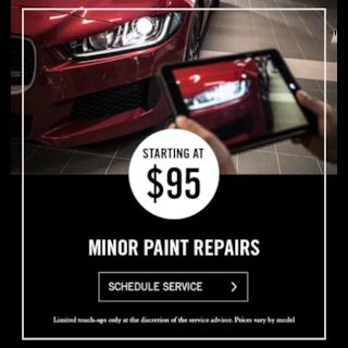 Minor Paint Repairs