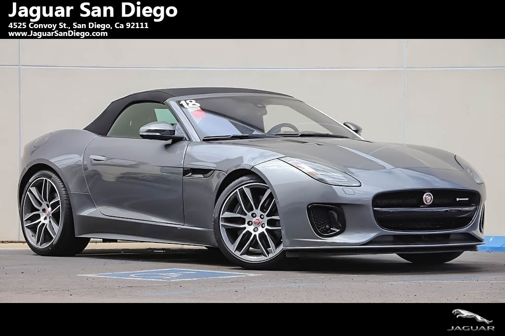 Amazing New 2018 Jaguar F TYPE R Dynamic Convertible San Diego